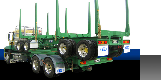 Transport Engineering Southland - Custom built trailers - Logging Trailers