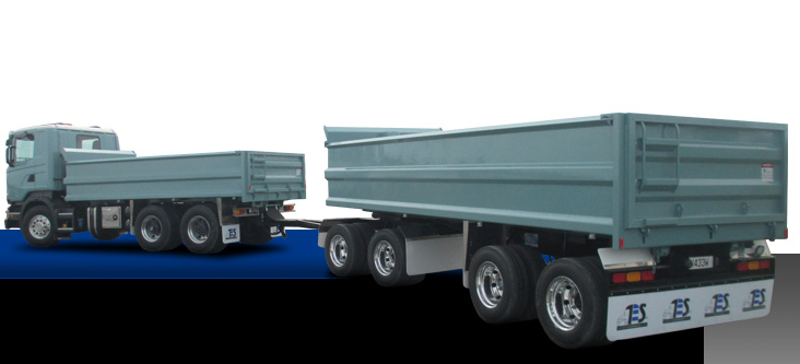Transport Engineering Southland - Custom built trailers - Steel Bathtubs