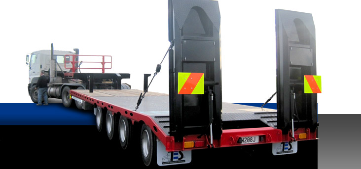 Transport Engineering Southland - Custom built trailers - Belly/Bottom Dumper