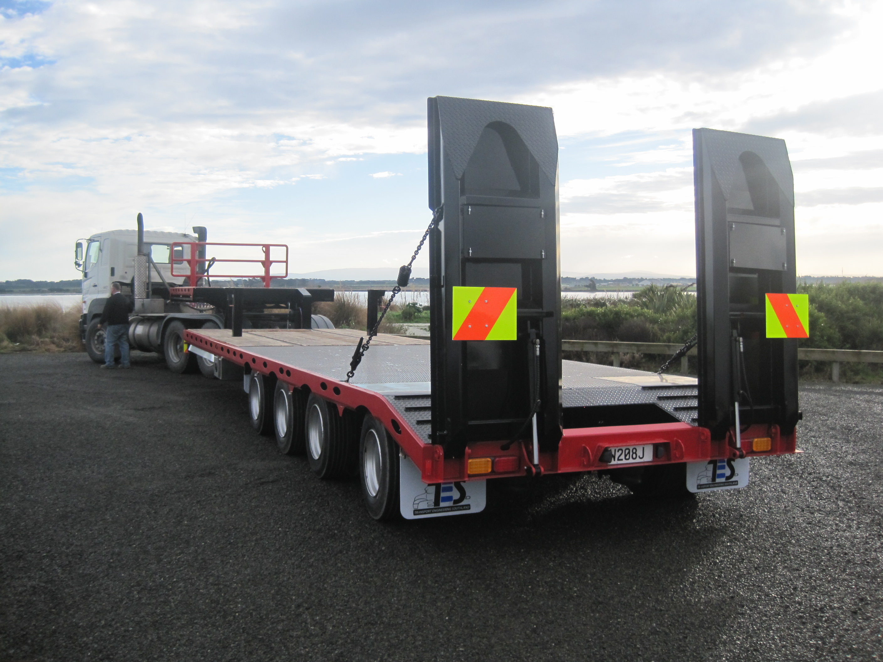 Transporter trailers