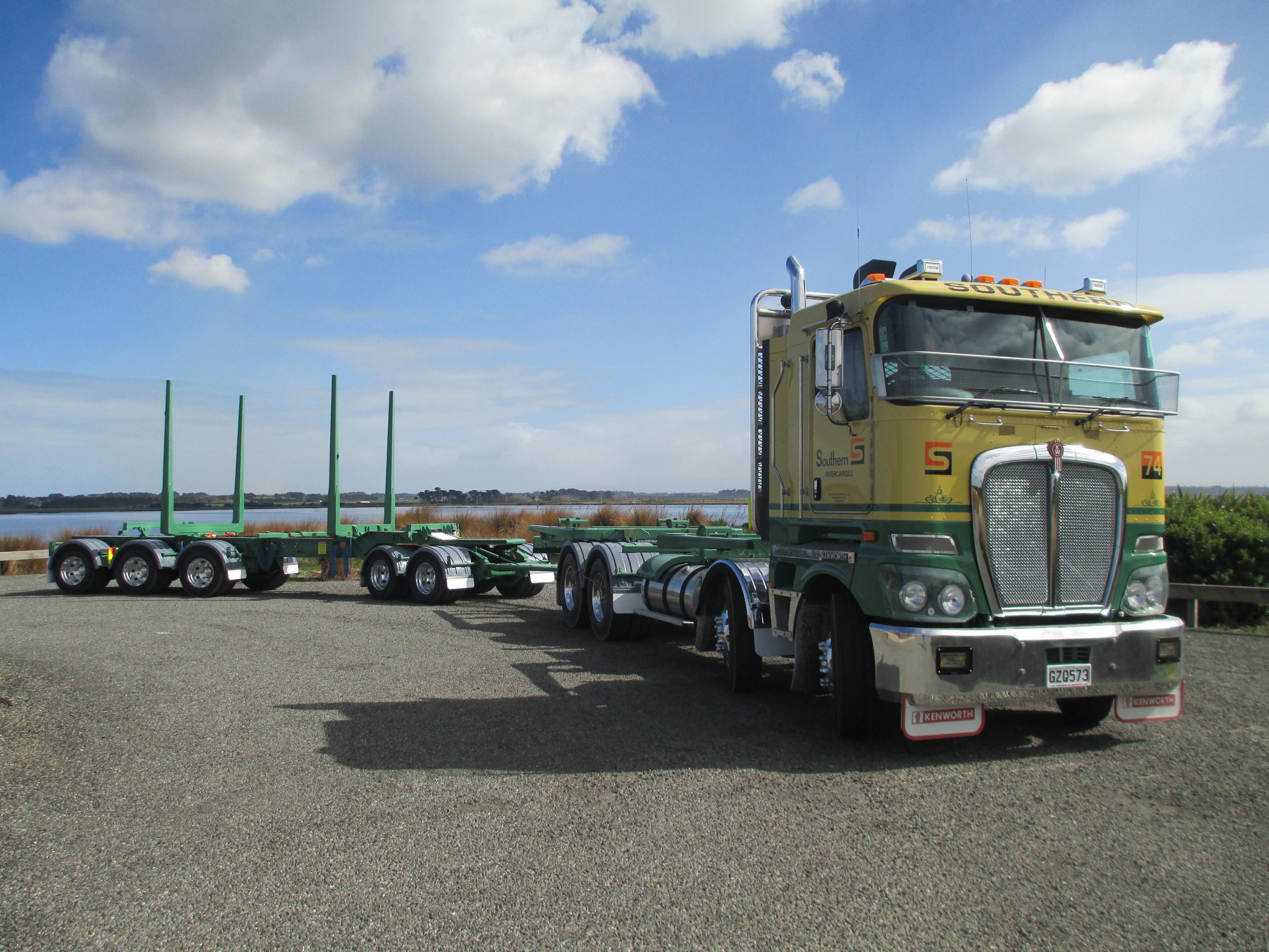 TES - Transport Engineering Southland | Logging Trailer
