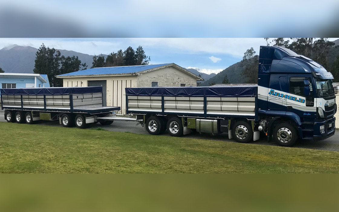 Lift Out Side Tipper / Truck and Trailer