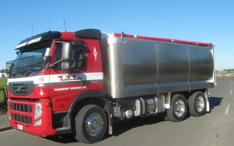 TES - Transport Engineering Southland | Combination alloy truck and trailer