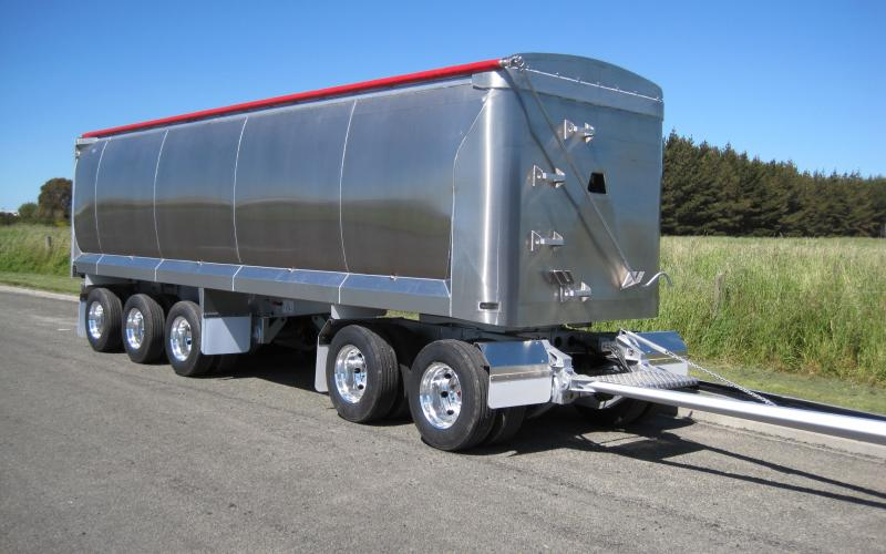 TES - Transport Engineering Southland | 5 Axle alloy | Bathtub trailer