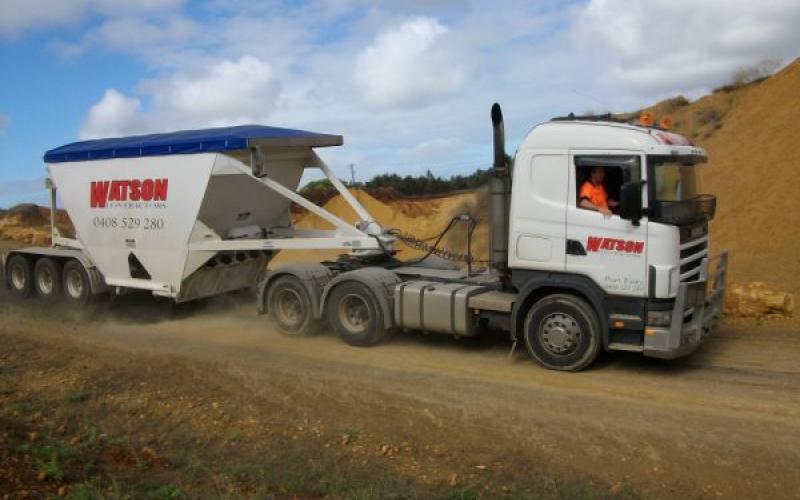 TES - Transport Engineering Southland | Belly/Bottom Dumper