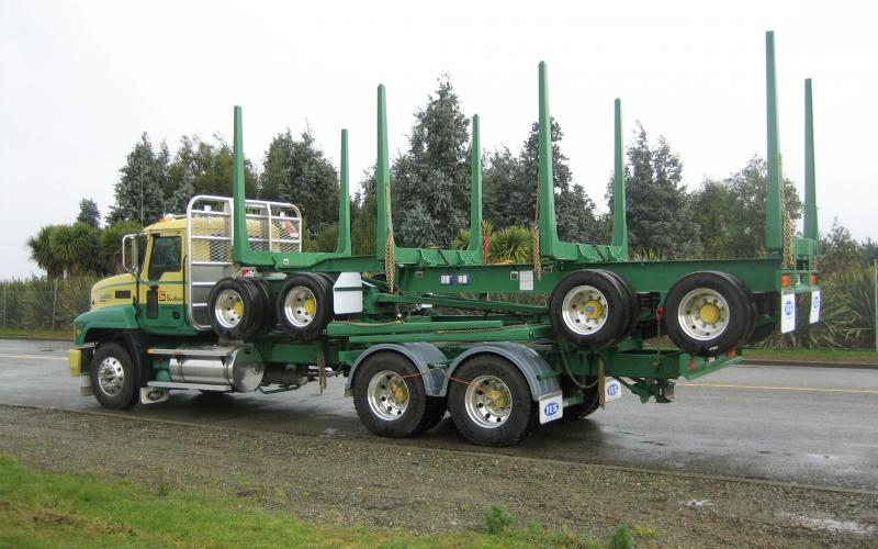 TES - Transport Engineering Southland | Logging Trailer