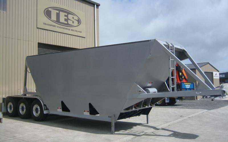TES - Transport Engineering Southland | Belly/Bottom Dumper - Custom